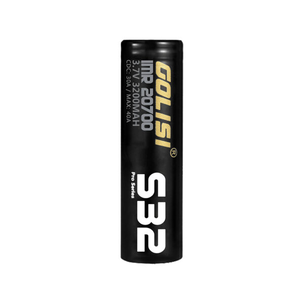 Golisi S32 IMR 20700 High-drain Li-ion Battery 30A 3200mAh