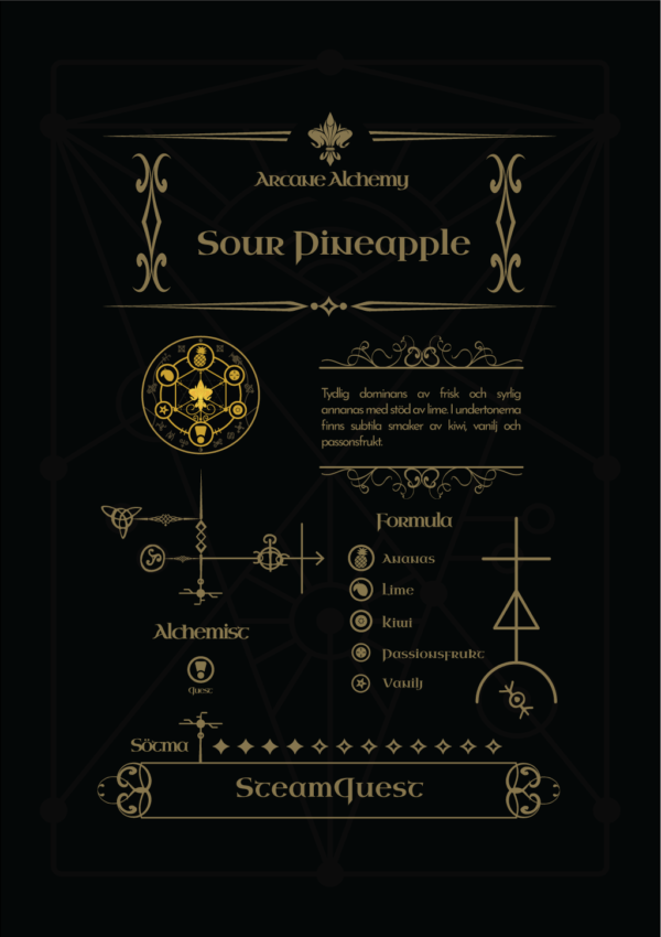 Arcane Alchemy - Sour Pineapple