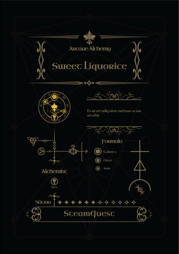 Arcane Alchemy - Sweet Liquorice